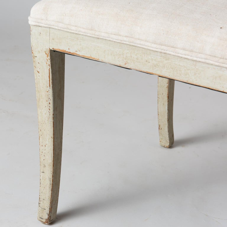 19th Century Pair of Late Gustavian Period Swedish Klismos Chairs, circa 1815 For Sale