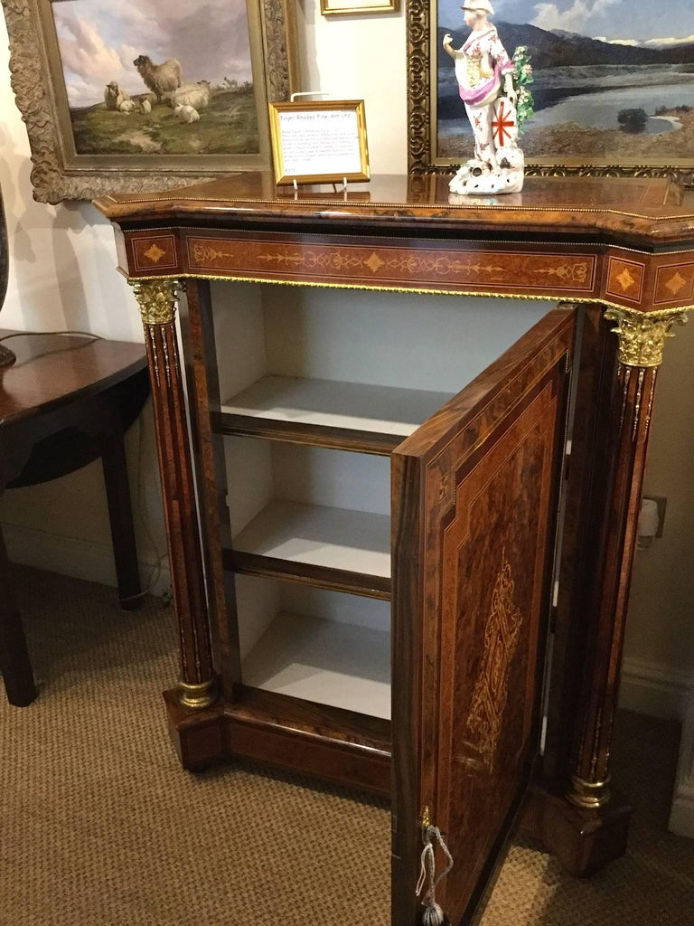 Pair of Late Victorian Side Cabinets, circa 1880 For Sale 6