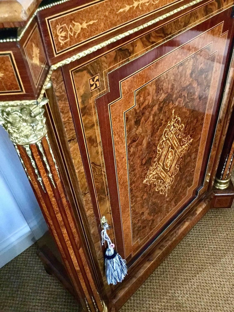 Pair of Late Victorian Side Cabinets, circa 1880 In Good Condition For Sale In Stamford, GB