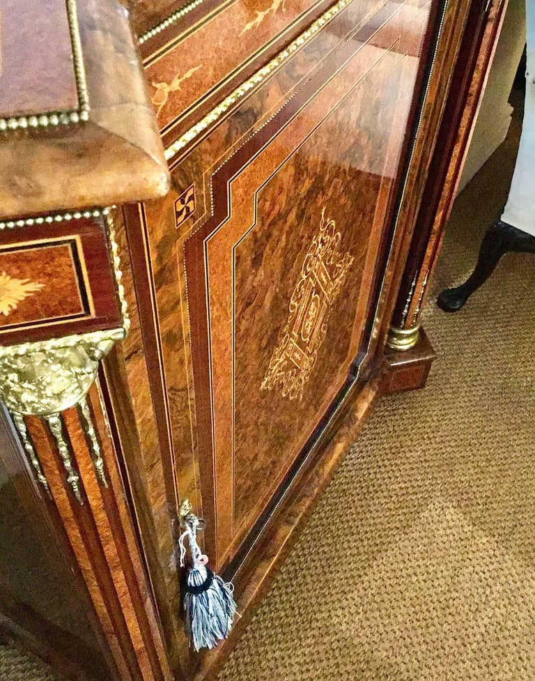Pair of Late Victorian Side Cabinets, circa 1880 For Sale 2