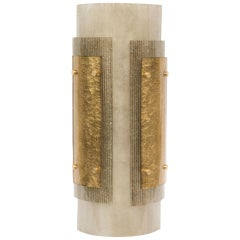 Pair of Laterali Wall Sconce in Murano Glass