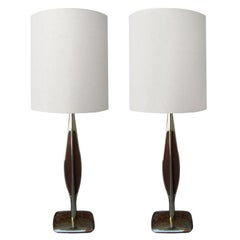 Pair of Laurel Table Lamps, 1960