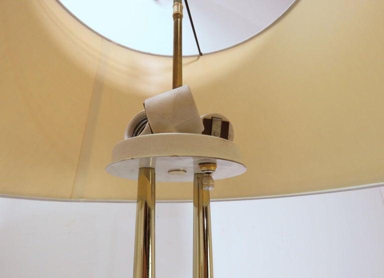 Pair of Laurel Wishbone Table Lamps, circa 1960s For Sale 3