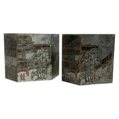 Pair of LaVerne Chan End Tables