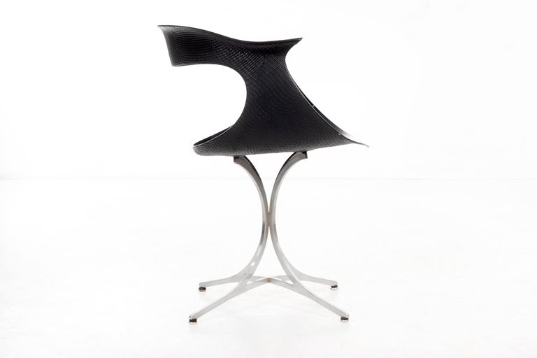 """Mid-20th Century Pair of Laverne """"Lotus"""" Chairs For Sale"""
