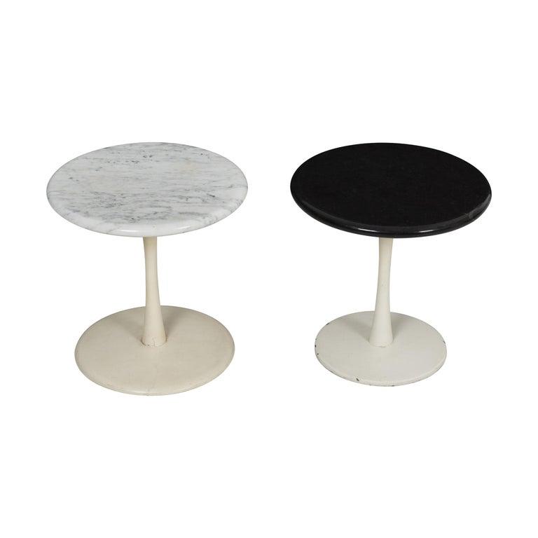 Pair of Laverne Stem Tables For Sale