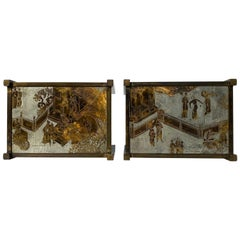 """Pair of LaVerne """"TAO"""" Side Tables"""
