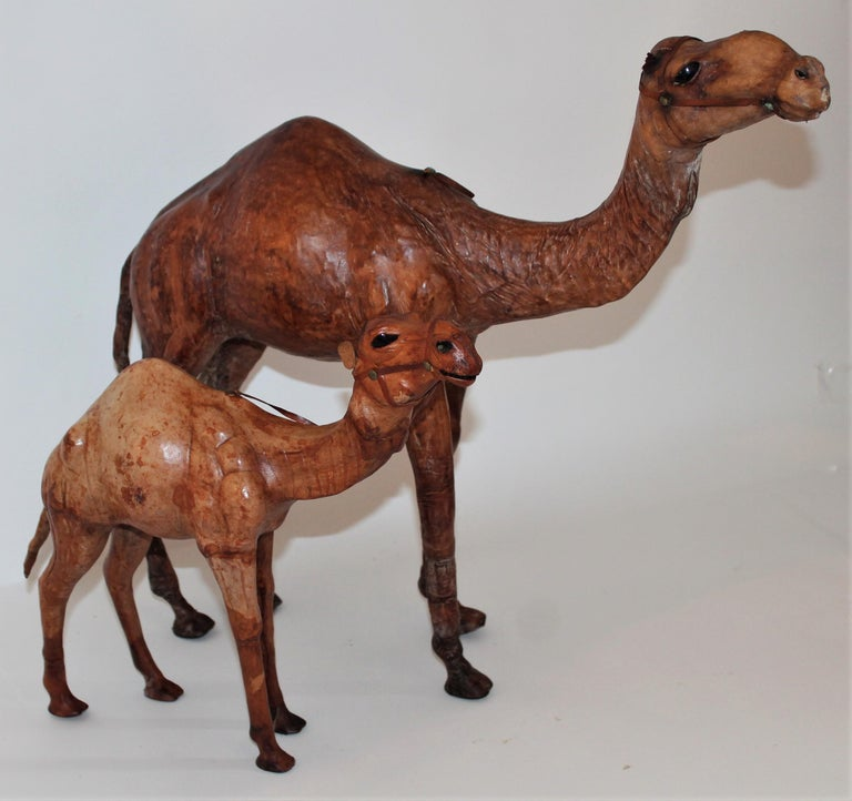 Other Pair of Leather Camels For Sale