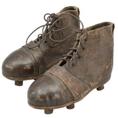 Pair of Leather Football Boots