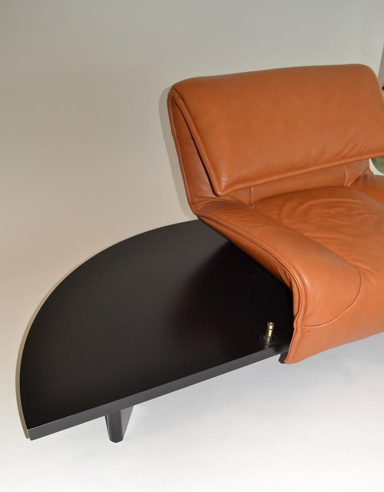 Pair of Leather Sofas or Couches by Vico Magistretti for Cassina, Italy, 1980's For Sale 1