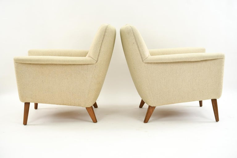 Pair of Leif Hansen Danish Easy Chairs 4