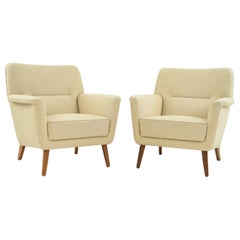 Pair of Leif Hansen Danish Easy Chairs