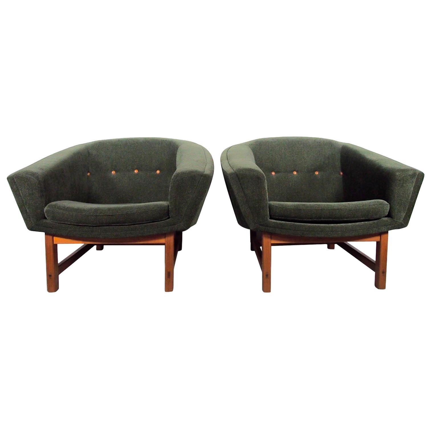 Pair of Lennart Bender Corona Easy Chairs