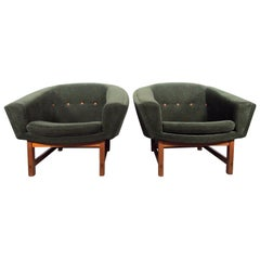 Pair of Lennart Bender Corona Easy Chairs