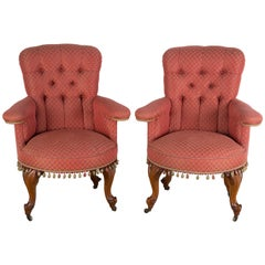 Pair of Library Chairs