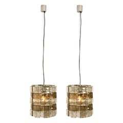 Pair of Light Fixtures by Carlo Nason, Italy, circa 1969