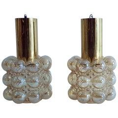 Pair of Limburg Bubble Pendants Design Helena Tynell