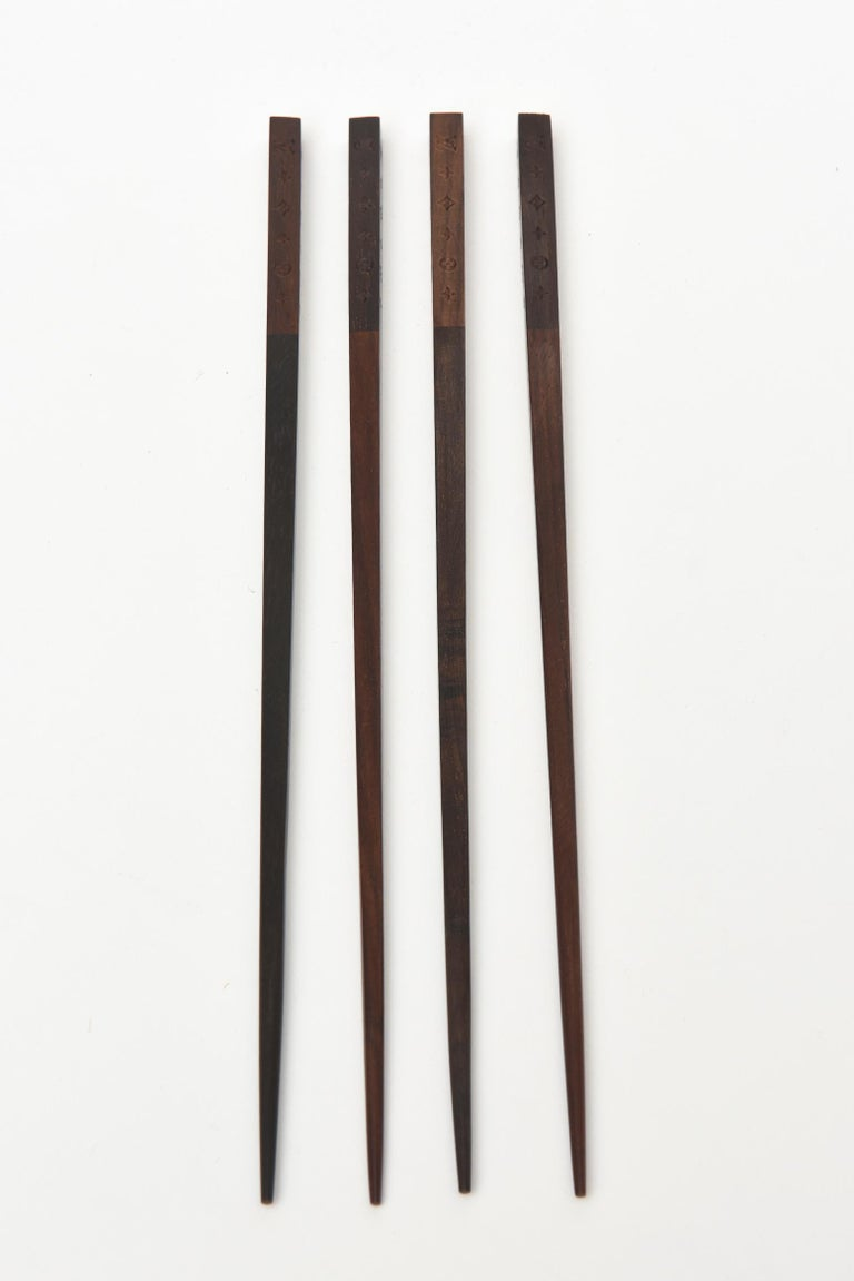 Louis Vuitton Chopstick Set Barware For Sale 3