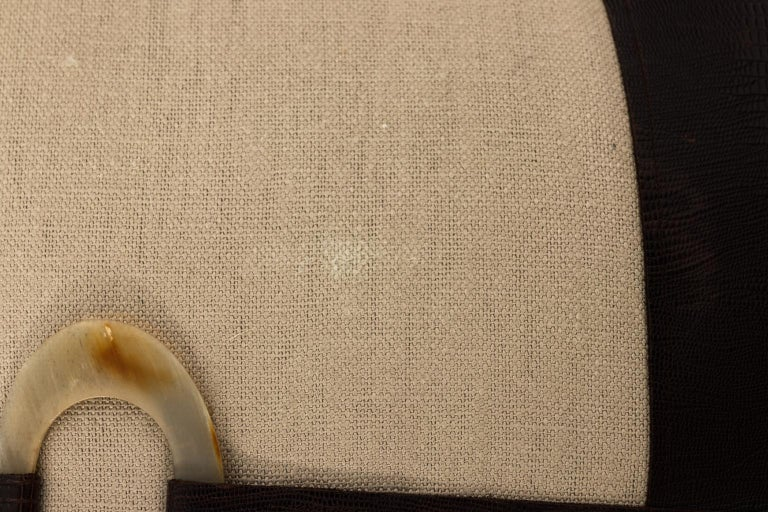 Pair of Linen Throw Pillows For Sale 7