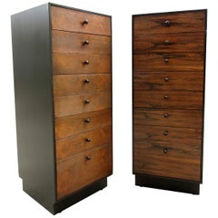 Pair of Lingerie Chest by Founders