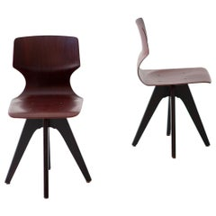 Pair of Little Bentwood Side Chairs or Stools