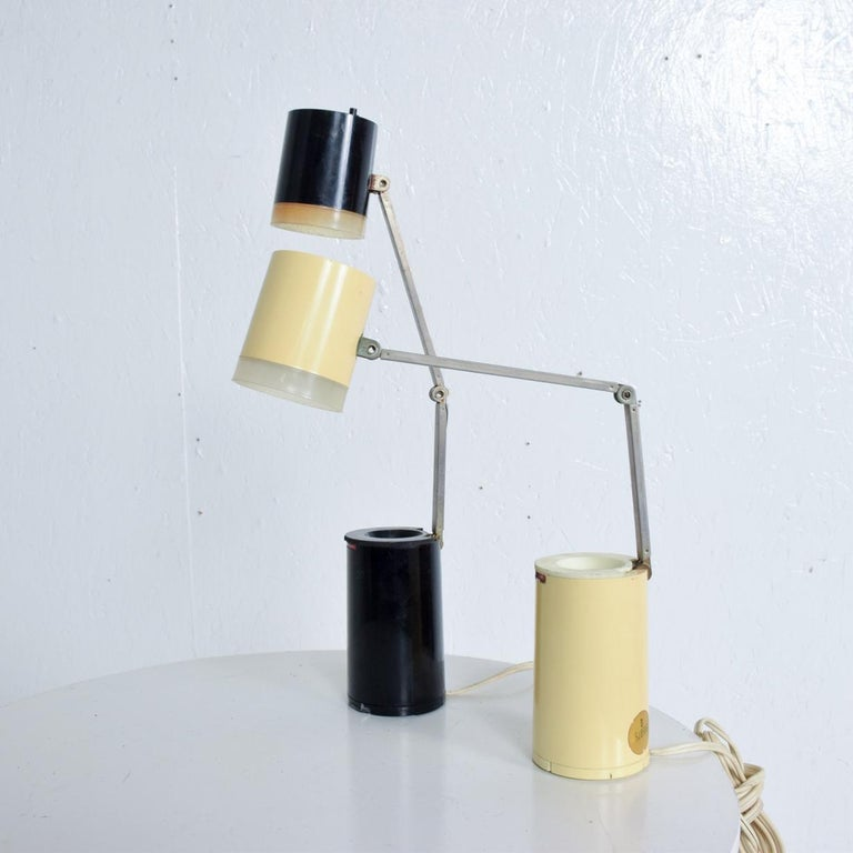 American Pair of Lloyds Task Table Lamps, Mid-Century Modern For Sale