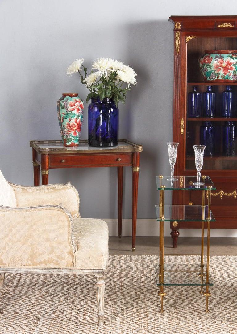 Pair of Longchamp Majolica Ceramic Vases, 1900s For Sale 14