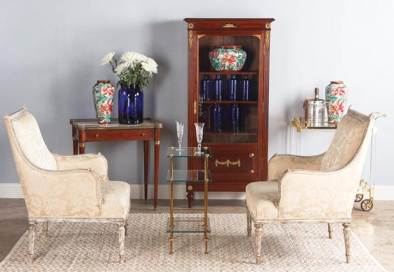 Pair of Longchamp Majolica Ceramic Vases, 1900s For Sale 3