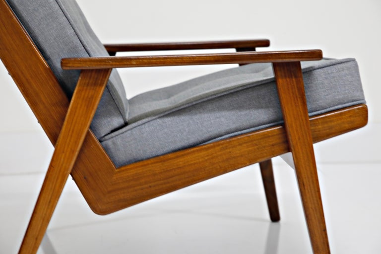 Pair of Lotus Chairs by Robert Parry for Gelderland, Denmark 1950s, Restored For Sale 5