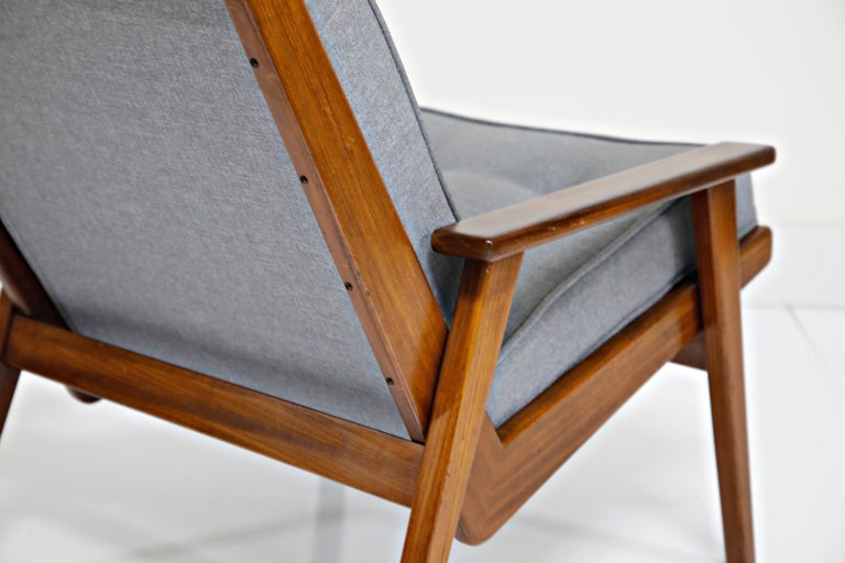 Pair of Lotus Chairs by Robert Parry for Gelderland, Denmark 1950s, Restored For Sale 7