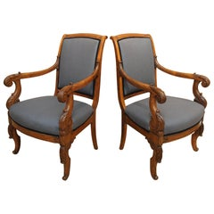 Pair of Louis-Philippe Armchairs