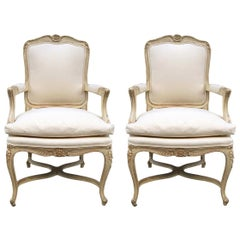 Pair of Louis XIV Style Armchairs