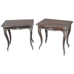 Pair of Louis XV Style End Tables