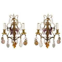 Pair of Louis XV Style Wall Lights