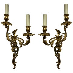 Pair of Louis XV Style Wall Sconces