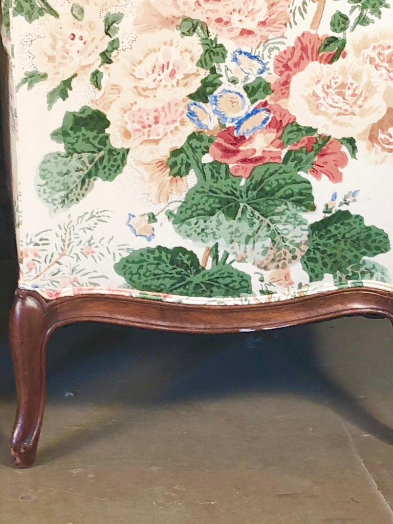 Pair of Louis XV Upholstered Armchairs, 18th Century For Sale 3