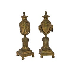 Pair of Louis XVI Bronze Cassollettes