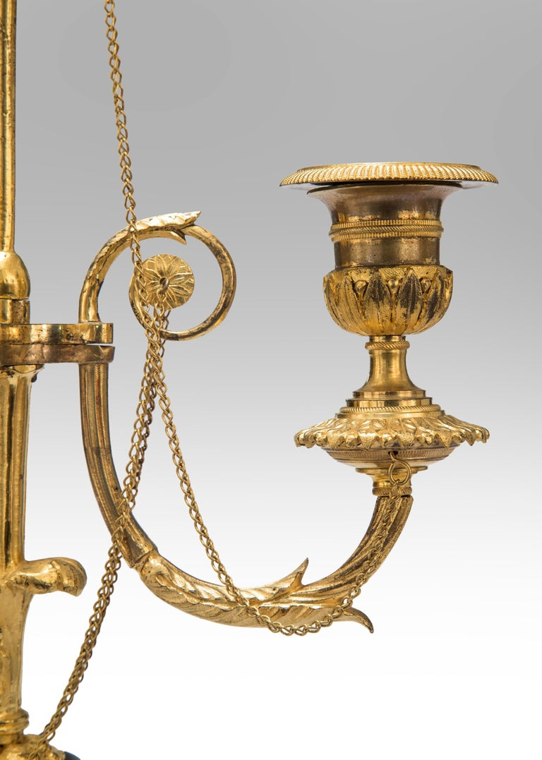 Neoclassical Pair of Louis XVI Candelabra For Sale