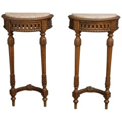 Pair of Louis XVI Revival Console Table