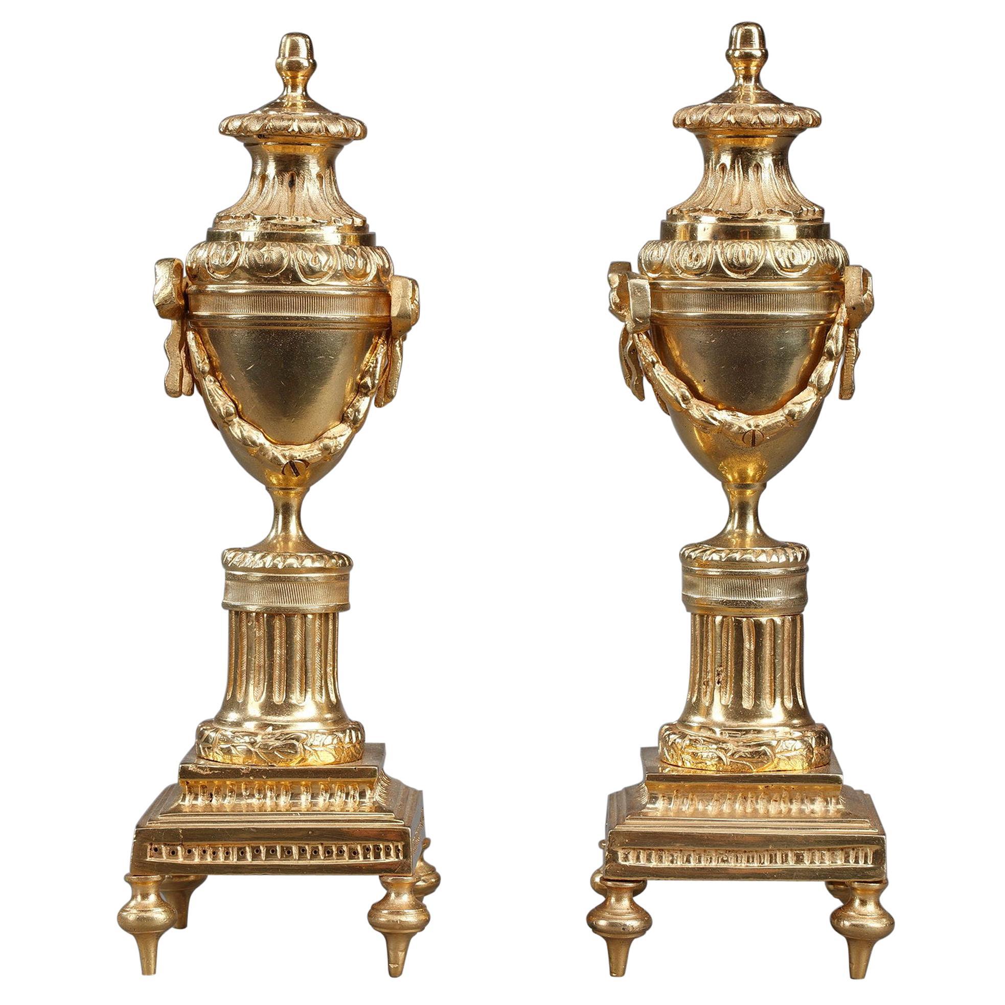 Pair of Louis XVI Style Cassolettes