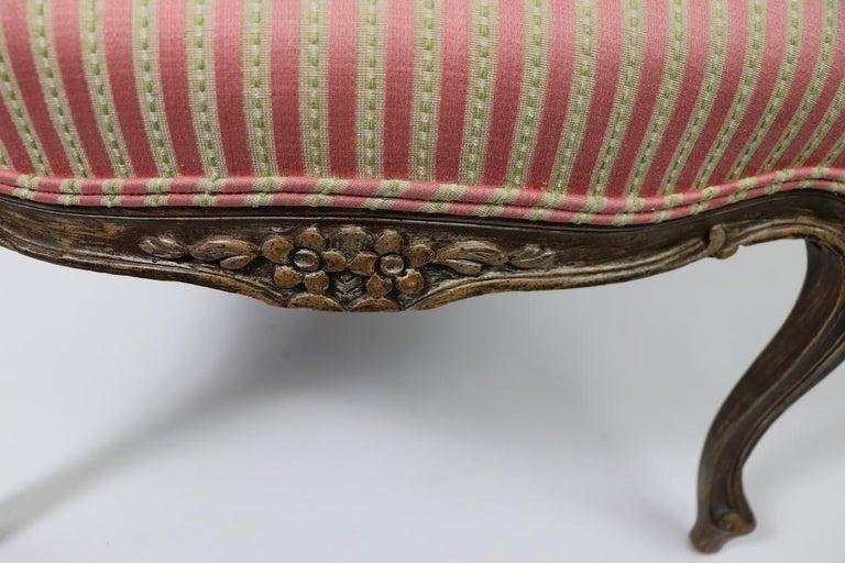 Pair of Louis XVI Style Fauteuils For Sale 5