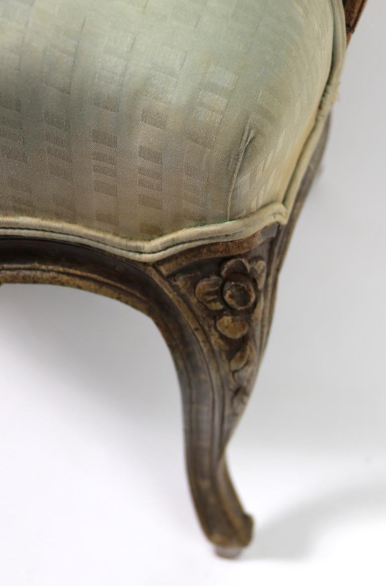 20th Century Pair of Louis XVI Style Fauteuils For Sale