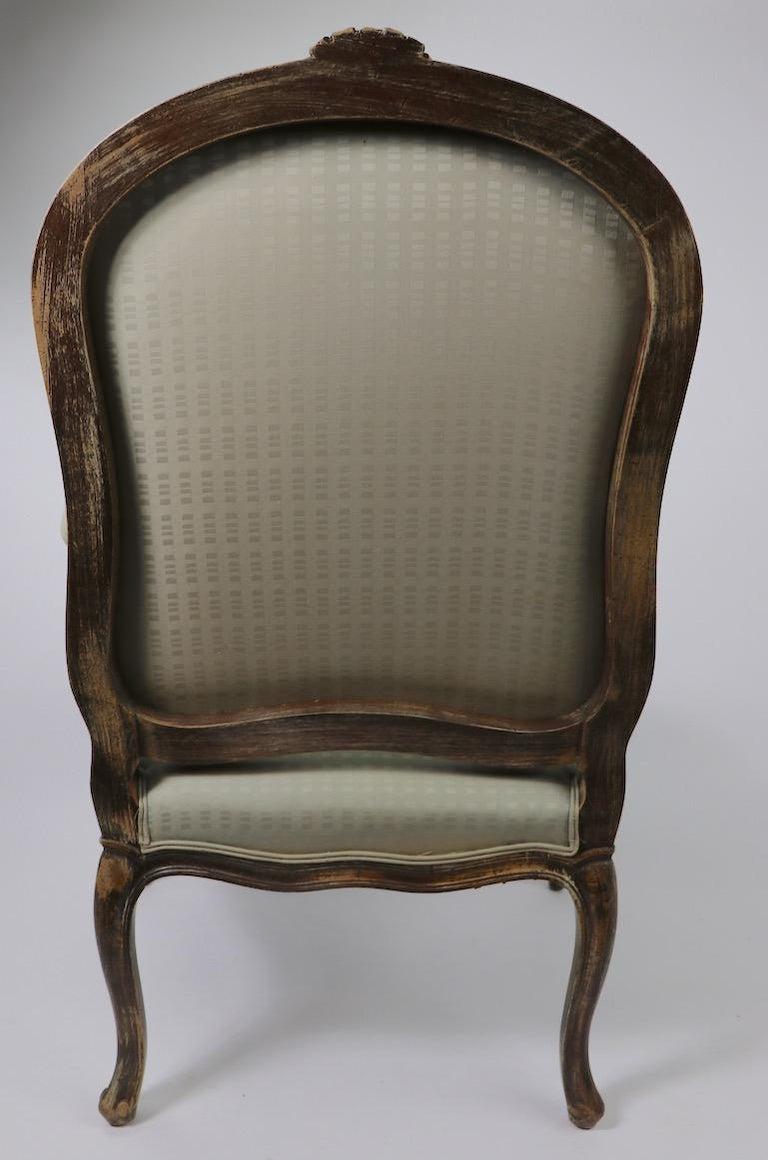 Pair of Louis XVI Style Fauteuils For Sale 1