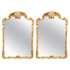 European Pier Mirrors and Console Mirrors
