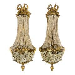 Pair of Louis XVI Style Sconces by Paul-Henri Ledentu