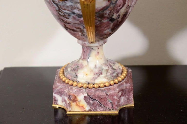 19th Century Pair of Louis XVI Style Urns For Sale