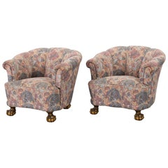 Pair of Lounge Armchairs