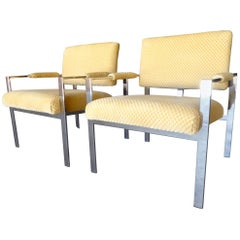 Pair of Lounge Chairs Attributed to Harvey Probber for Thayer Coggin