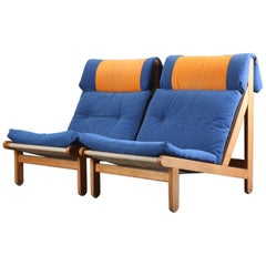 Pair of Lounge Chairs by Bernt Pedersen