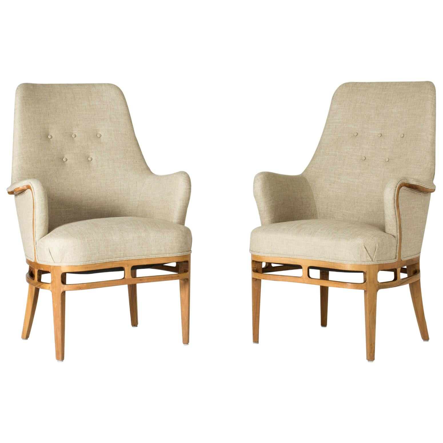 Pair of Lounge Chairs by Carl-Axel Acking
